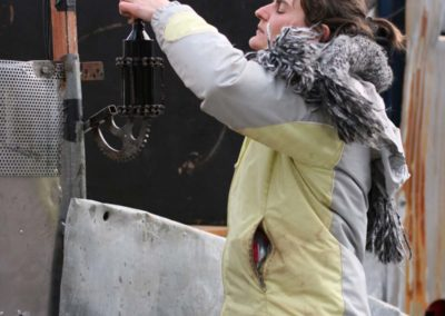 Le montage - Diables de la Garrigue 2009 (11)
