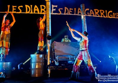 Les Diables de la Garrigue - Sortie Ouest mars 2012