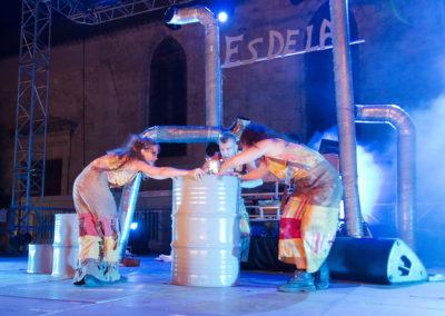 Les Diables de la garrigue en concert à la Feria de Béziers