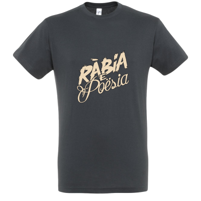 """T-shirt à col rond série """"Rábia e Poësia"""""""