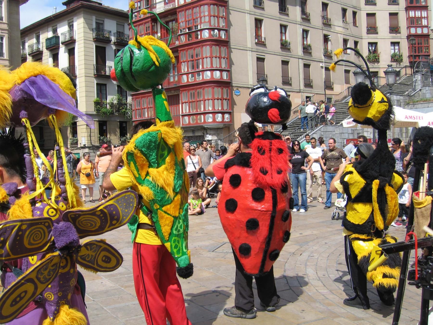 La Fanfare des Goulamas en Bestioles de la Garrigue à Bilbao