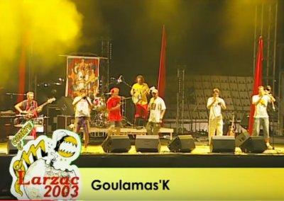 Goulamas'K au Larzac 2003
