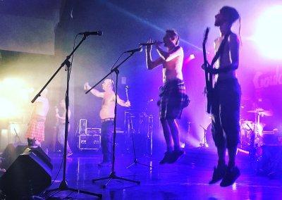 Goulamas'k à la soirée Festi's'dead à capestang le 7 octobre 2017