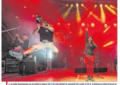 Goulamas'K dans le journal La Provence en août 2017