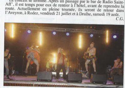 article du Progrès - Goulamas'K à Saint Affrique