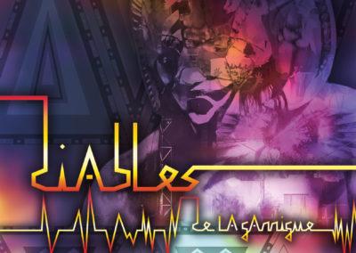 Concert de sortie d'album des Diables de la Garrigue le 3 mars à Puisserguier (34)