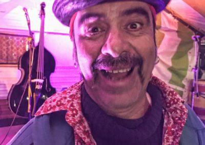 Santa Patchole en concert à Puisserguier - décembre 2017