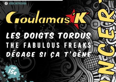 Goulamas'K à Brout-Vernet 03