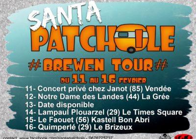 Santa Patchole - Brewen Tour