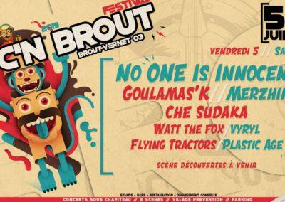 Goulamas'K au Festival Roc'n Brout (03)