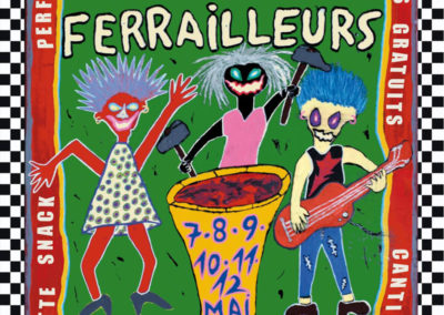 Santa Patchole et Les Diables de la Garrigue au Festival des Farrailleurs (34)