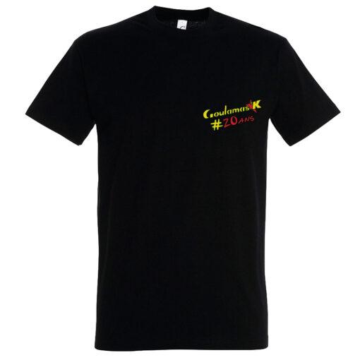 tshirt des 20 ans de Goulamas'k