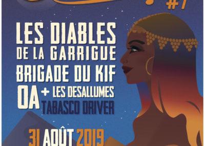 Les Diables de la Garrigue au Désertival