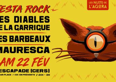 Les Diables de la Garrigue à la Festa Rock de Cers (34)