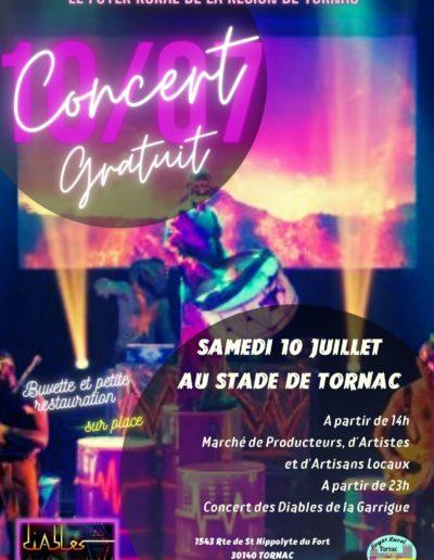 10/07/21 Les Diables de la Garrigue à Tornac (30)